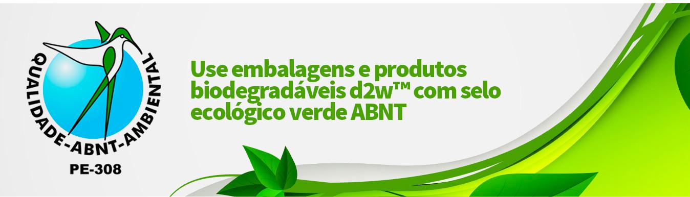 Use embalagens e produtos biodegradáveis